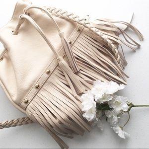 🖤F21 shoulder bucket bag   fringe   boho